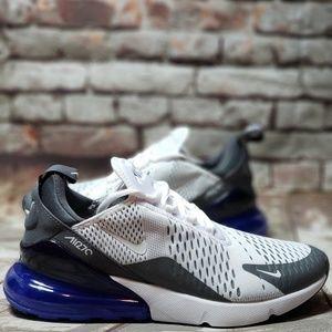 newest ab8b4 13ea4 Nike Shoes   Air Max 270 White Persian Violet Sz 9 Grey   Poshmark